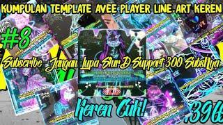 Top #10 Template Avee Player Line Art Keren!|FREE DOWNLOAD!!|Download Via MEDIAFIRE!!#8