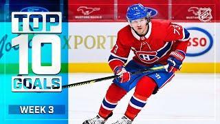 Top 10 Goals from Week 3 | 2021 NHL Season