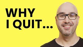 Why I Left My Job as a Senior Software Engineer | Mosh Hamedani