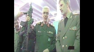 Iran Defense Industries smart communication system, Major General Bagheri سامانه هوشمند ارتباط نظامي
