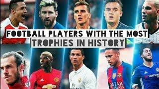 Top 10 Football Players with the most Trophies in History