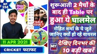 IPL 2021 - Table Issue , MI , RCB CSK & 10 News | Cricket Fatafat | EP 258 | MY Cricket Production