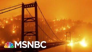Apocalyptic Instagram Filter: Wildfires Show Irreversible Damage Of Climate Crisis | All In | MSNBC