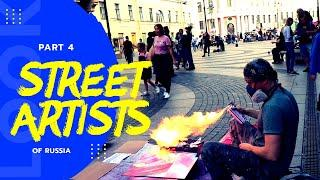 Spray Paint Drawing | Top 10 Street Performers Singing Hit Songs - Spray Paint Artist