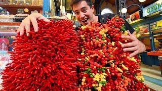 Budapest Street Food - HUNGARY'S BEST STREET FOOD GUIDE!! SPICY Hungarian Paprika Goulash!
