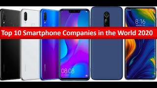Top 10 Smartphone Companies in the World 2020 | Top Mobile Brands in 2020