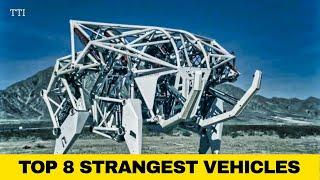 ✅ 8 STRANGEST VEHICLES EVER ON EARTH