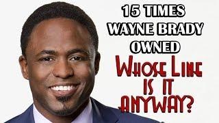 "#TBT - 15 Times Wayne Brady Owned ""Whose Line Is It, Anyway?"""