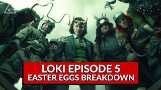 """Loki Ep 5 """"Journey Into Mystery"""" Breakdown, Easter Eggs, and Ending Explained (Nerdist News)"""