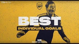 Who scored the best Arsenal solo goal of all time? | Ozil, Kanu, Henry, Bergkamp