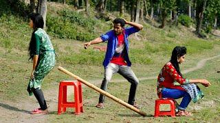 Must Watch Top New Comedy Video 2020_Very Funny Stupid Boys_Episode 125_By Maha Fun TV
