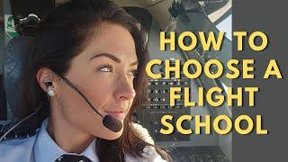 How To Choose A Flight Training School? | Student Pilot TIPS for BEST Flight School Selection!