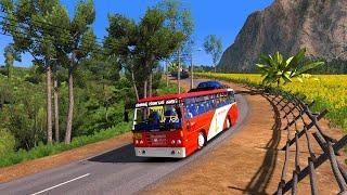 Hulikal Ghat Road   Karnataka Ksrtc Bus   Dangerous Hairpin Bend Road