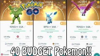 Top 40 BUDGET Pokemon To Power Up In Pokémon GO! (2020) | Which Pokemon Are Worth Powering Up?!