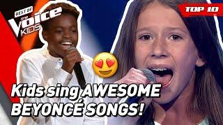 TOP 10 | Beautiful BEYONCÉ songs covered in The Voice Kids!