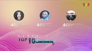 Carta Top 10 - Week 2 | Muzik-Muzik 35 (2020)