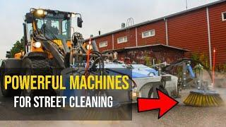 Super Powerful Machines for Street Cleaning | Top 10 Tech