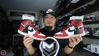Michael Jordan's Air Jordan 1 Rehab Shoe by Mr. Sabotage