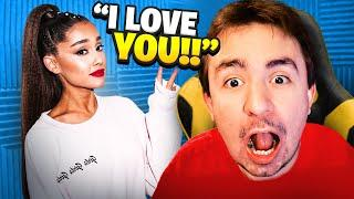 Surprising Lox With Ariana Grande.. (Real Life)