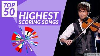 TOP 50 Highest Scoring Songs of Eurovision | NEW VOTING SYSTEM (2009-2021)