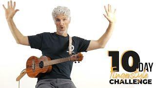 10 Day Ukulele Fingerstyle Challenge!! Join us!!