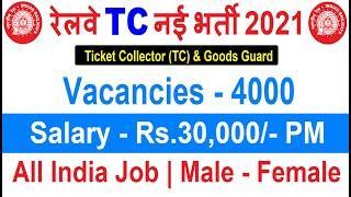 Railway Recruitment 2021 // Railway New Bharti 2021 //RRC New Vacancy 2021// GOVT JOBS MARCH 2021