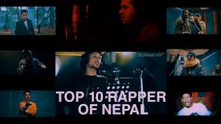 Top 10 rappers of Nepal