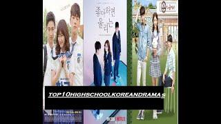top 10 high school korean drama 2020
