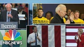 Sanders, Buttigieg Challenge Iowa Results On The Eve Of New Hampshire Primary | NBC Nightly News