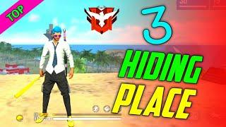 Free Fire Top 3 Hiding Place In Bermuda Map