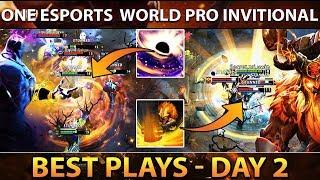 ONE Esports Singapore World PRO DOTA 2 - Best Plays Day 2 [Group Stage]