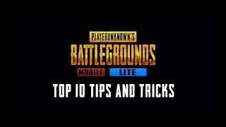 Top 10 tips and tricks in pubg mobile lite | Pubg mobile lite | Redlit gaming.