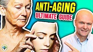 Top 10 Ways To EXTREME ANTI-AGING & Looking Young. Ultimate Guide to Reverse Aging Naturally