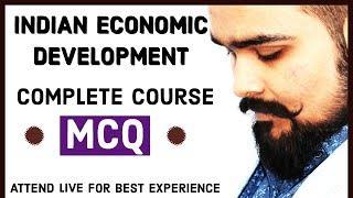 MCQ session | Indian Economic Development Complete course | Board exam 2020 | economics exam