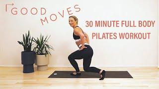 30 Minute Full Body Pilates Workout   Good Moves   Well+Good