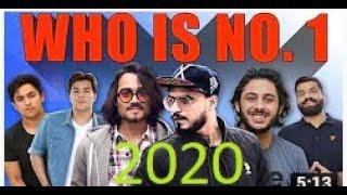 Top 10 Most Popular Indian Youtubers 2020 Part 1| Carryminati ,BB Ki Vines,Amit Bhadana,Harsh Beniwe