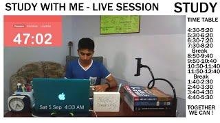 Study With Me LIVE | Forest