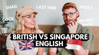 English Words That Have Different Meanings In Singapore!