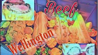 Top 10 Christmas food beef Wellington/ with angus beef tenderloin