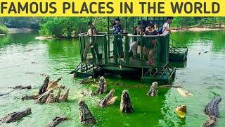 Top 10 most famous Places In The World New research|| by facts of the world
