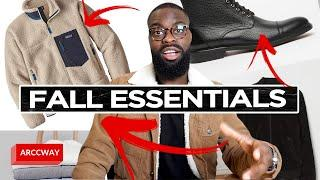 TOP 10 Fall ESSENTIALS for EVERY GUY Menswear (MUST HAVES) - Men's Fashion Style Guide