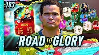 FIFA 20 ROAD TO GLORY #183 - RECORD BREAKER AGUERO!!