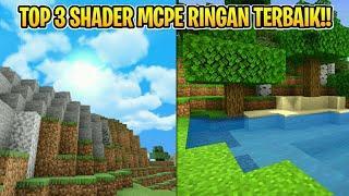 Top 3 Shader Terbaik Di Mcpe | Shader Low End | Mcpe 1.16