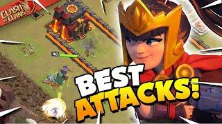 BEST Queen Walk / Queen Charge Attacks - TH10 Attack Strategy (Clash of Clans)