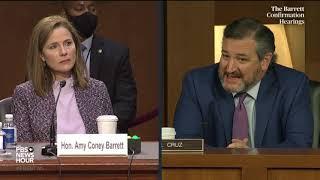 WATCH: Sen. Ted Cruz questions Supreme Court nominee Amy Coney Barrett