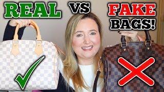 Real Vs Fake Designer Bags!