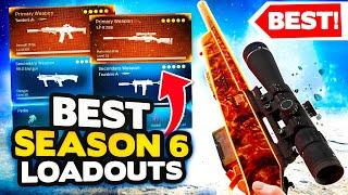 *NEW* Warzone Season 6 Top 10 BEST LOADOUT + Class Setups (Modern Warfare Warzone Tips)