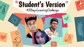 Student's Accepting the Challenge | 21 Days Learning Challenge | Learn During Lockdown | Vedantu