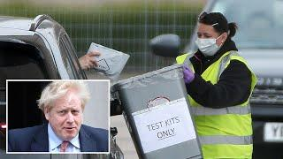 Boris Johnson vows to ramp up testing to 'solve' coronavirus puzzle