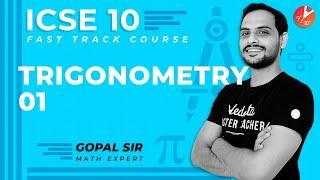 Trigonometry ICSE/CBSE Class 10 Maths | Trigonometry Identities/Formulas/Table/Tricks/Ratios Vedantu